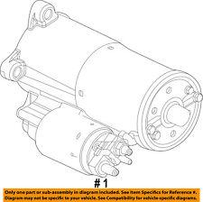 FORD OEM-Starter Motor DL3Z11002A