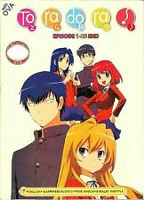 DVD Anime Toradora Episode 1 - 25 End 2 OVA English Version All Region NTSC