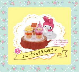 Re-Ment Miniature Sanrio My Melody Floral Party Rare rement No.05