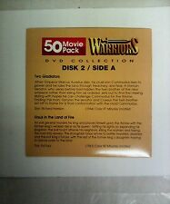 Warriors:Disk 2:Action DVD movies(Greek & Roman action!)