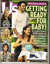 JENNIFER GARNER BEN AFFLECK US Magazine 8/29/05 BRAD PITT DENISE RICHARDS PC
