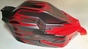 Rovan V5 Buggy 4WD Body Shell set Black / Red