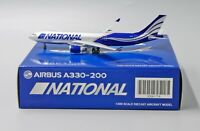 National A330-200 Reg: N819CA JC Wings Scale 1:400 Diecast model XX4176