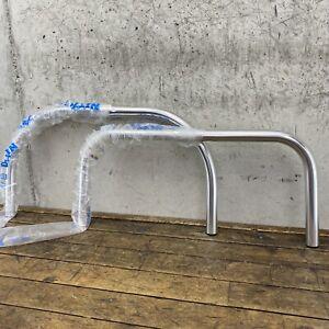 Nitto Handlebars Lot (2) 25.4mm RM601 RM617 Flat Swept Cow Horn Riv Randonner