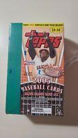 2005 Topps Series 2 Baseball Blaster Box Retail 10 packs total) Brand New Sealed