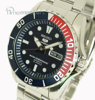 New SEIKO 5 SPORTS MEN'S AUTOMATIC DIVER STYLE SNZF15K1