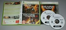 Gears of War 1 & 2 Double Pack - Microsoft XBOX 360 Game complete bundle copy