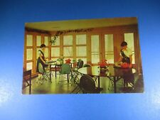 Rockwood National Girl Scout Camp Dining Room Manor House Vintage Post Card PC40