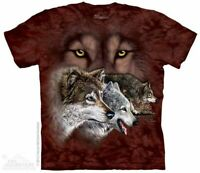 """""""Find 9 Wolves"""" The Mountain Classic T-Shirt - Child and Adult"""