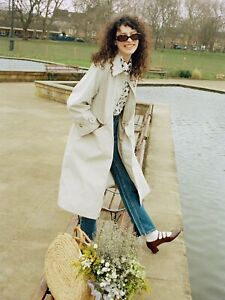 Alexa chung Barbour Julie Trench Coat 14
