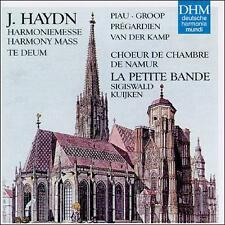 Haydn: Harmony Mass - Te Deum / Piau, Groop, Pré Ex-library . Disc Only/No Case