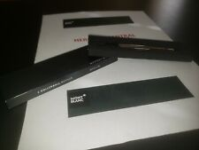 Mont Blanc Refill Roller Ball MB105158 2 (M) Mystery Black TWO pack
