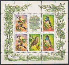1995 Russia Birds Songbirds MNH