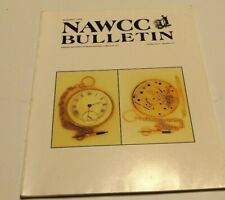 NAWCC Bulletin August 1995 #297 Clark Tourbillons, Changing Movements Emperor
