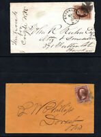 Sc# 146 on cover (2 pieces/ covers)       -      Lot 1120268