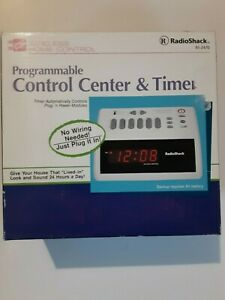 vtg Radio Shack Programmable Control Center & Timer 61-2470 wireless home