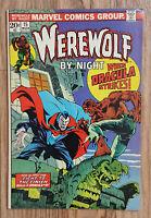Werewolf by Night #15 Mar 1974, Marvel / Dracula / Original of Werewolf VF Cond.