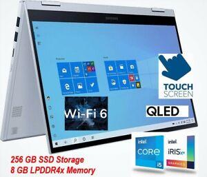 "Samsung Galaxy Book Flex 2 alpha 2-in-1 13.3"" QLED TOUCH-SCREEN: Intel core i5"