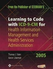 Learning to Code With Icd-9-Cm for Health Information Management and Health Serv