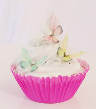 Edible Fairy Wing Butterfly Cupcake Topper 15pc First Birthday Soft Magical Fun