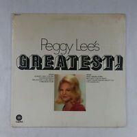 PEGGY LEE Greatest DKAO377 LP Vinyl SEALED GF