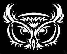 Tribal OWL Vinyl Die Cut Decal Sticker car window laptop