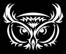 Tribal OWL Vinyl Die Cut Decal Sticker car window laptop