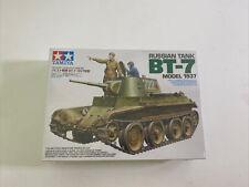 NEW FACTORY SEALED! Tamiya 1:35 Russian Tank BT-7 Model 1937