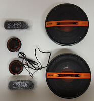 """EDGE 6.5"""" EDST216C-E6 COMPONENT. WITH GRILLS AND TWEETERS, 17CM"""