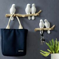 Wall Decorations Home Accessories Hanger Resin Bird Key Hat Handbag Holder