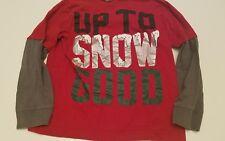 Gymboree Boys Size 8  Up to Snow Good  Long Sleeve shirt