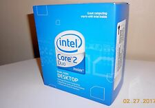 Intel Core 2 Duo Desktop Processor E6550 with fan & heatsink - new in box
