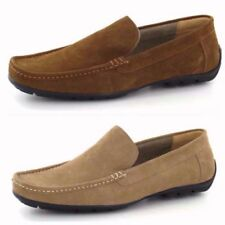 Loafers Suede Standard Width (D) Shoes for Men