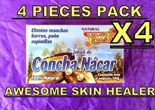 WHITENING SKIN SPOTS MOTHER PEARL SOAP LIGTENING ACNE SCARS PIMPLES CONCHA NACAR