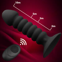 Wireless Dildo_Anal_Sex_Butt _Plug Prostate Massage Vibe_G-Spot Vibrator_Men_Gay