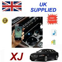 Jaguar XJ Bluetooth FM Music charge module iPhone567 HTC Nokia LG Galaxy Samsung