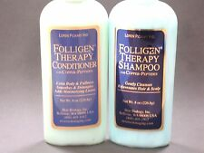 Hair Regrow Shampoo & Conditioner, Folligen with Copper Peptides, Hair Loss care