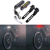 Luce Ricaricabile USB Posteriore LED Impermeabile Bici Bicicletta Faro Fanale KT