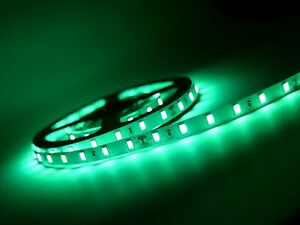 MEGA ANGEBOT! Leistungsstarke 24 V LED Streifen 5 m, Innen,5730 SMD dimmbar grün