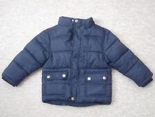Kinder-Anorak Winterjacke Gr. 92-98 dunkelblau unisex