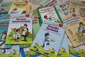 Lot of 8 Books Amelia Bedelia I Can Read Level 2 by Peggy & Herman Parish MIX