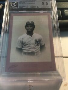 2005 Donruss Studio Portraits  Rickey Henderson /45 BGS 8.5  #SP-82 NY Yankees
