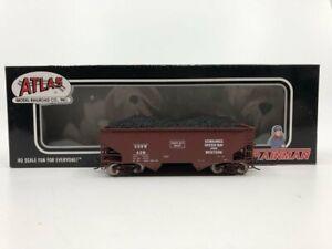 Atlas 18904 KGB&W 2-Bay Offset Hopper Car LN/Box