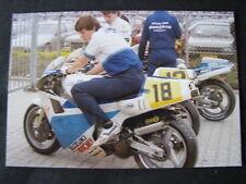 Photo Men Only Suzuki RGV500 #18 Kenny Irons (GBR) Dutch TT Assen 1987 #1