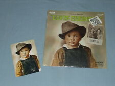 "1971 ""Elvis Country"" LP In Factory Shrink W/Sticker & Bonus Photo"