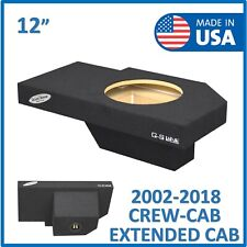 "02-18 Dodge Ram Crew Cab & Extended cab 12"" Single Sub box Subwoofer Enclosure"