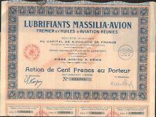 DECO => Lubrifiants MASSILIA-AVION  (M)