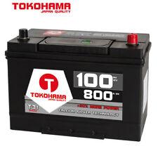 TOKOHAMA Autobatterie 12V 100Ah 800A Japan Asia + Pluspol rechts Batterie 60032