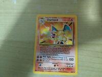 1999 Pokémon Base Set Unlimited Card Uncommon Rare holo Charizard
