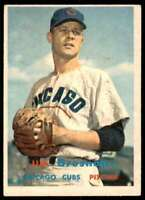 1957 Topps Jim Brosnan Chicago Cubs #155